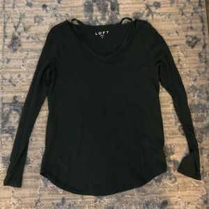 Loft Long Sleeve Shirt, Size Small